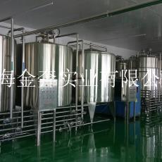 飲料生產線 上海金奔廠家直銷4000瓶果汁飲料生產設備