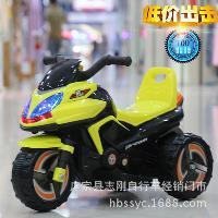 批發 新款兒童電動摩托三輪車車帶音樂燈光寶寶電動代步車