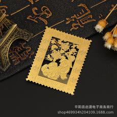 金色金属卡片可定制 质优价平 创意镂空个性LOGO贵宾卡