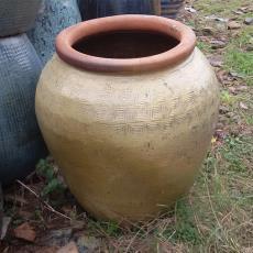 陶罐厂家直销色釉粗陶罐园林景观绿化工程陶罐陶缸水缸陶盆8806