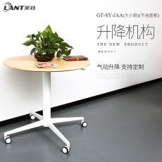 廠家批發萊特氣彈簧升降桌定制升降機構站立移動式移動電腦辦公桌