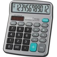 計算機 運算符號顯示功能12位數太陽能 DV-836計算器