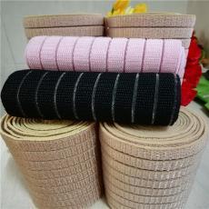 规格颜色可订做混批 鱼丝带 尼龙自粘松紧带 毛面鱼丝松紧带