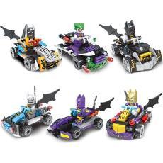 兼容乐高超级英雄蝙蝠侠战车模型儿童益智拼装积木人仔男孩玩具