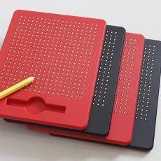 厂家直销数字字母磁性画板塑料钢珠磁力画板益智创意画板儿童玩具