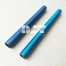 碳纤风筝支架支撑杆 鼻烟壶管杆 彩色碳纤维管 碳纤维装饰管 蓝色