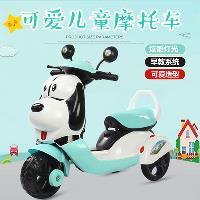 新款兒童電動摩托車三輪車小孩玩具男女寶寶電動玩具車可充電坐人