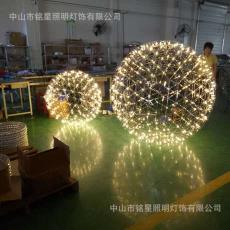 花坛景观装饰灯厂家*不锈钢LED火花星球灯中山景观装饰灯批发