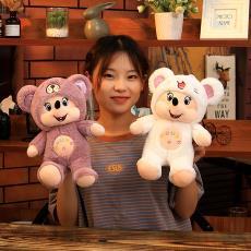 厂家直销新款变身米老鼠毛绒玩具创意儿童女生生日礼物可爱抱枕