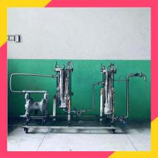 小型工业酒精过滤器 丙酮溶液过滤净化设备 甲醇乙醇杂质过滤机