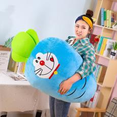 新款變身蘿卜毛絨玩具公仔兒童娃娃長抱枕玩偶可愛搞怪生日禮物