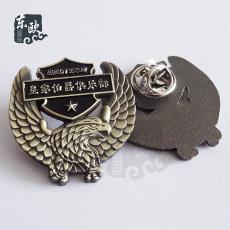 廠家直銷供應烤漆徽章定制 企業logo金屬徽章定做 復古金屬胸章