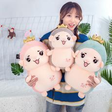 廠家批發抖音網紅同款甜小c毛絨玩具公仔卡通小刺猬抱枕抓機娃娃