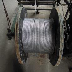 厂家直销镀锌钢绞线gj-50 大棚搭架钢绞线 农业用塑包绝缘钢绞线