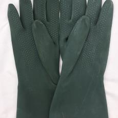 加厚型尼龍襯里高效耐酸堿工業乳膠手套抗撕裂耐老化耐磨耐油
