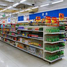 批發超市便利店單雙面日用百貨零食精品展示架多功能護膚文具貨架