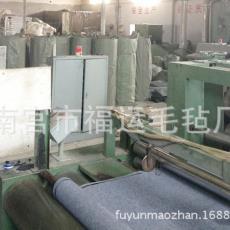 针刺涤纶化纤毛毡 福运毛毡厂专业生产工业用混纺毛毡