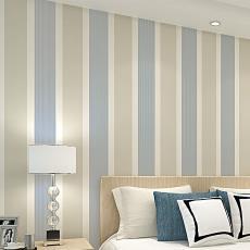 现代简约立体植绒无纺布壁纸卧室客厅简约电视背景墙宽条纹墙纸