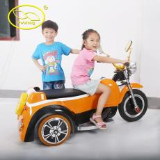 新款電動三輪車z 蘇州福龍廠家直銷正品兒童搖滾摩托車