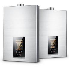家宝宝新款平行天燃气热12升水器即热式强排恒温热水器家用淋浴器