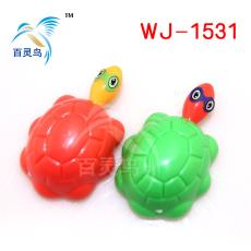 赠品  地摊热卖 厂家专业生产小玩具 塑料滑行乌龟车