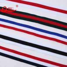 針織帶條紋間色織帶微彈織帶衣服褲子鑲邊帶