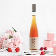 草莓酒水果酒高度甜紅酒顏值少女網紅日式清酒21度可OEM代工批發