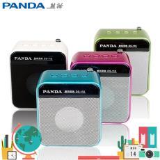 MP3數碼播放器 FM SD卡 U盤音箱 PANDA/熊貓 便攜插卡音響 DS-110