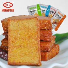【一件代發】湘岳魚豆腐25g*20包湖南特產食品小零食獨立包裝批發