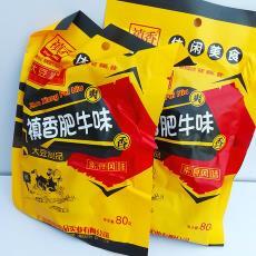 大豆制品 真香食品 禛香肥牛味80g 休閑素食