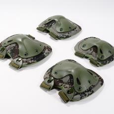 變形金剛戶外登山護具 真人CS野戰防護裝備裝備 美軍戰術護膝護肘