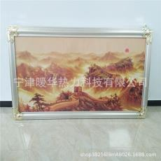电暖画图片碳纤维电暖画碳纤维电暖画冬季取暖器有框墙暖画