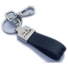 金屬真皮汽車鑰匙扣男女士個性定制創意活動促銷禮品贈品一件代發