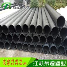 pe给水管材管件 HDPE国家标准 黑色聚乙烯高密度PE自来水管