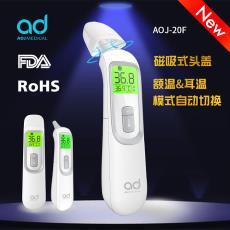 厂家外贸新款婴儿测温仪 家用精准电子体温计 儿童红外线测温枪