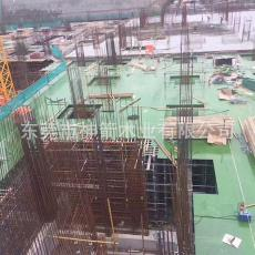 木塑胶合板厂家批发 使用次数高达30次以上 绿色覆面建筑模板