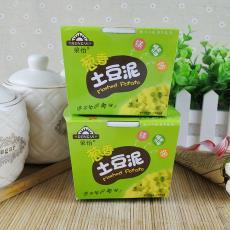 方便土豆泥速食零食代餐食品 四川特產榮怡土豆泥蔥香味30g*12