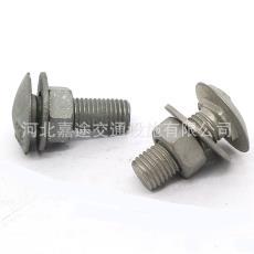 交通設施專用國標防盜護欄螺栓 長期供應防盜型鍍鋅護欄絲
