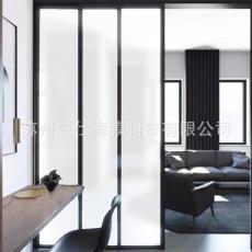 熱銷白霧砂裝飾膜磨砂膜窗戶玻璃貼紙淋浴房透光不透明貼膜