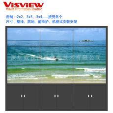 46寸55寸49寸监控电视墙定制拼接屏安装支架 深圳拼接屏安装机柜