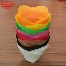 需模具 廠家批發小號荷花烘焙防油紙杯 耐高溫烤杯 瑪芬蛋糕紙托