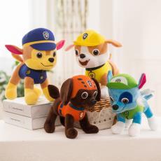 廠家批發抓機娃娃毛絨玩具動漫卡通公仔汪汪隊仿真玩偶兒童禮物