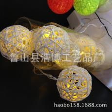 厂家直销优质低价3CM-10CM纯手工藤球 可定制 时尚装饰球