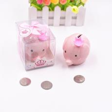 創意可愛陶瓷大象存錢罐活動促銷回禮禮品個性寶寶滿月生日小禮物