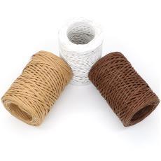 花店绑花束用 雁喜 纸绳铁丝DIY手工花材料 现货50米卷装花艺铁丝