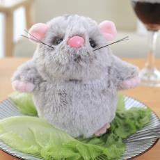 新款毛絨玩具叫叫鼠公仔發聲玩偶小萌鼠婚慶拋灑禮物抓機娃娃批發