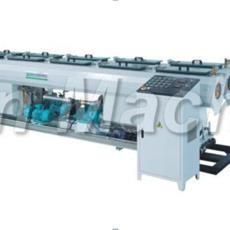 塑料管道擠出機 錐雙 PVC管材擠出機 供水管設備 PVC排水管生產線
