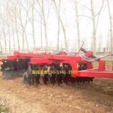 亚泰圆盘耙厂家批发高品质液压重耙 拖拉机动力20片牵引重耙