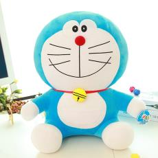 毛绒玩具机器猫多哆啦A梦叮当猫大号娃娃公仔情人节生日礼物批发