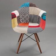 創意家具 餐椅 休閑椅 廠家直銷 設計師椅子 扶手伊姆斯百家布椅
